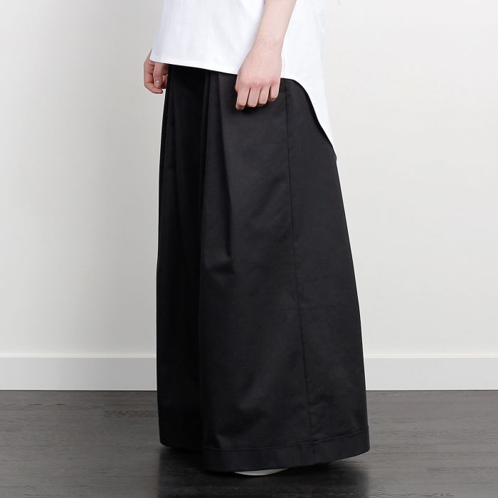 WIDE HAKAMA TROUSERS BLACK