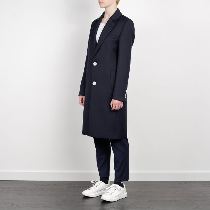 CLASSIC COAT WITH INSIDE BLAZER NAVY BLUE