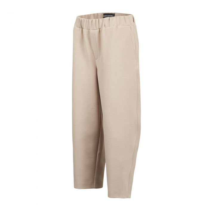ROUND TROUSERS LIGHT BEIGE