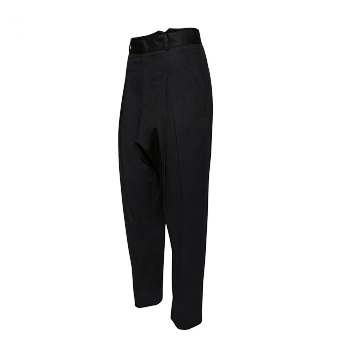 INVERTED PLEAT TROUSERS
