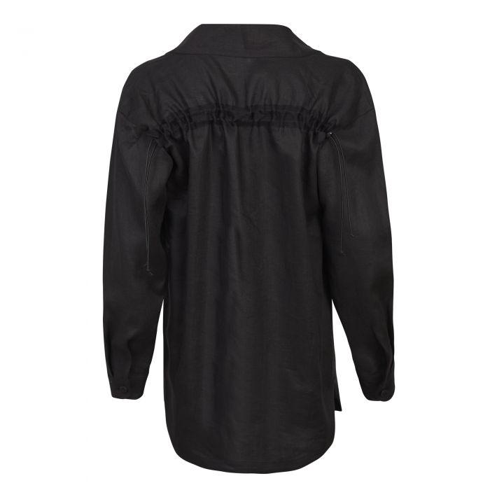 SHIRT KIMONO BLACK