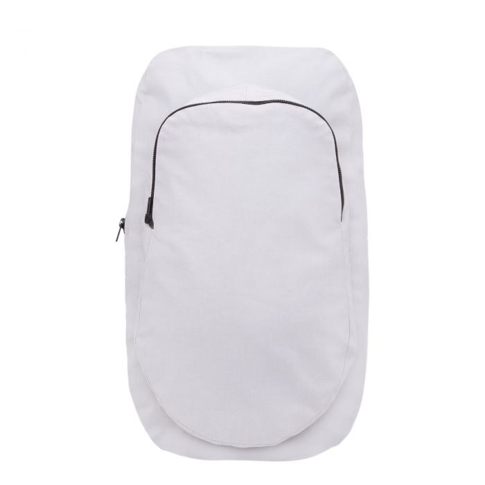 ROUND SHAPE BACKPACK IN GREY