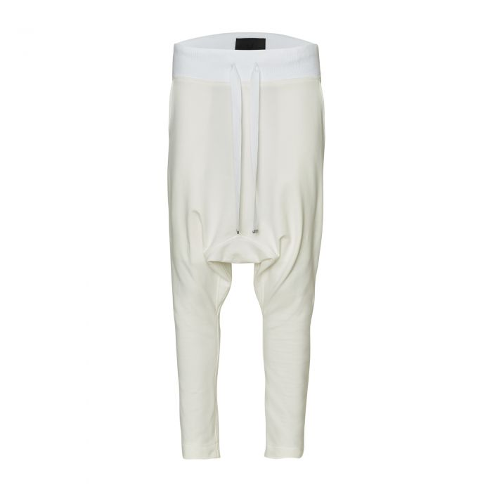 GUSSET SWEATPANTS OFF WHITE
