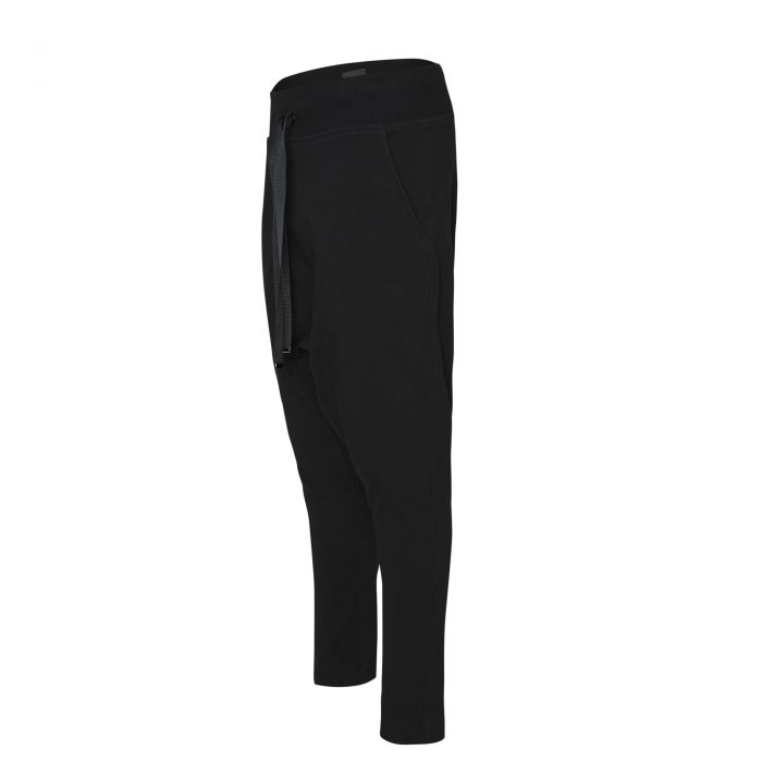 GUSSET SWEATPANTS BLACK