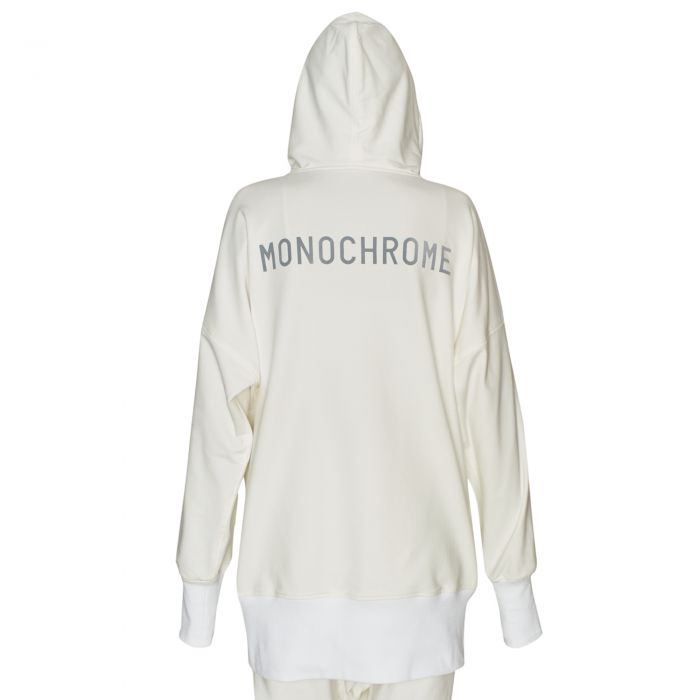 ELONGATED SWEATSHIRT OFF WHITE
