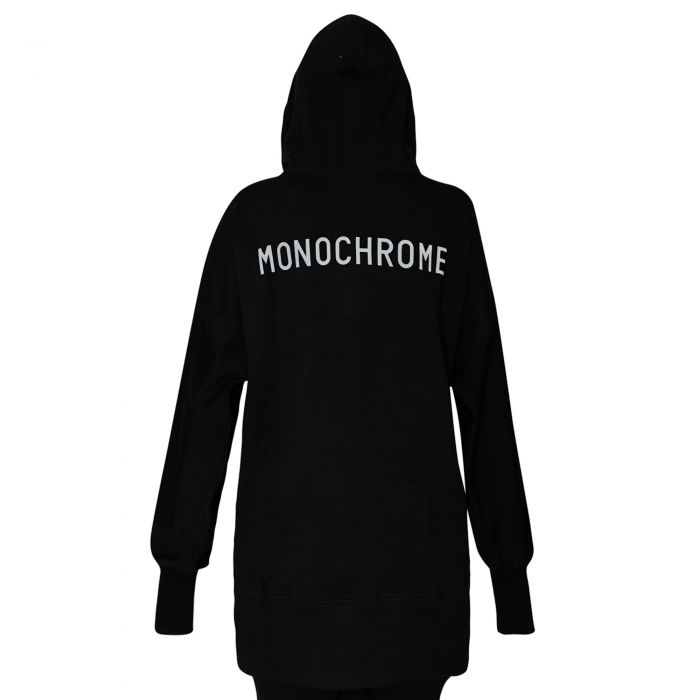 ELONGATED SWEATSHIRT BLACK