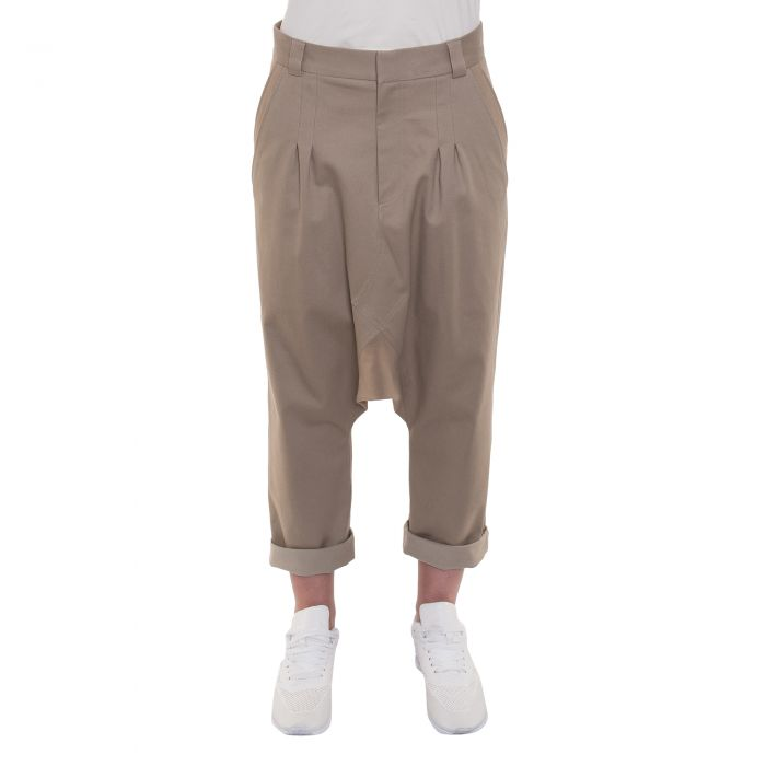 DROP TROUSERS CAMEL