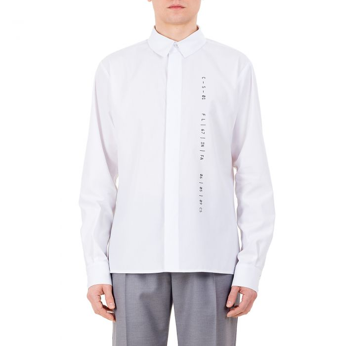 CLASSIC CODED SHIRT WHITE