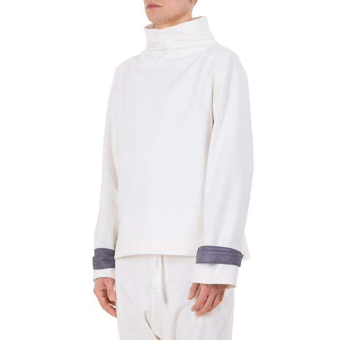 HARNESS SWEATSHIRT OFF WHITE