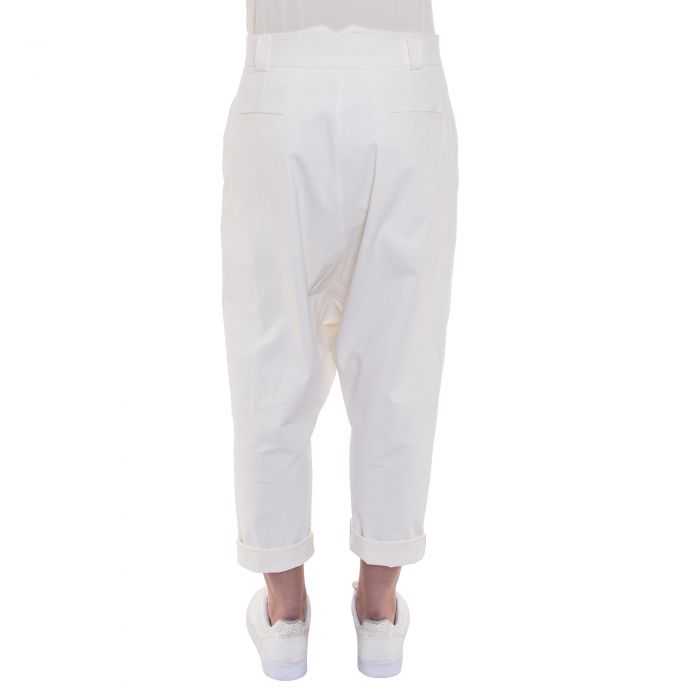 DROP TROUSERS OFF WHITE