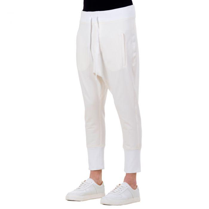 RUNNER PANTS OFF WHITE