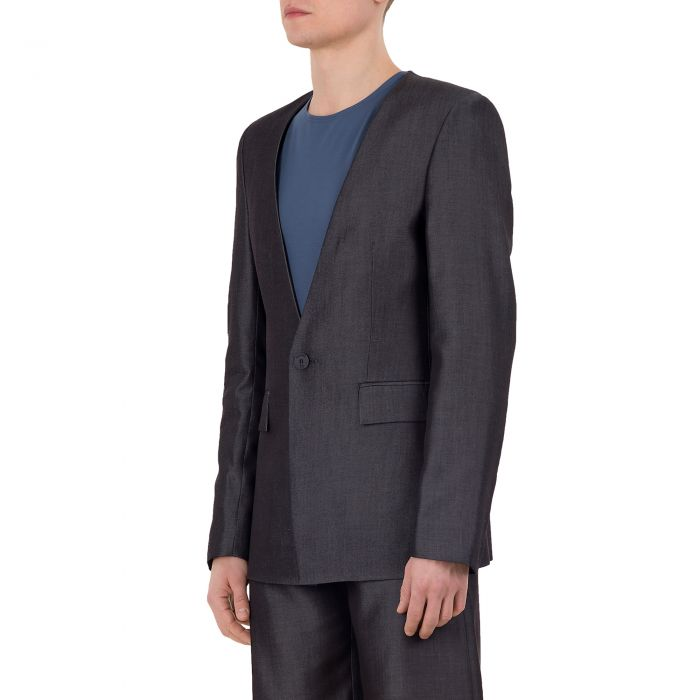 TENCEL CODED BLAZER GREY