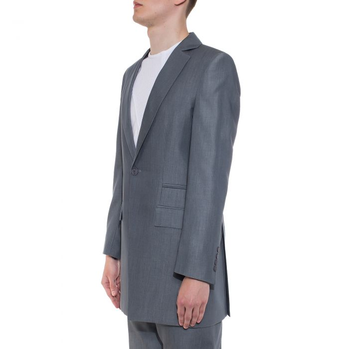 GREY SHADOW BLAZER