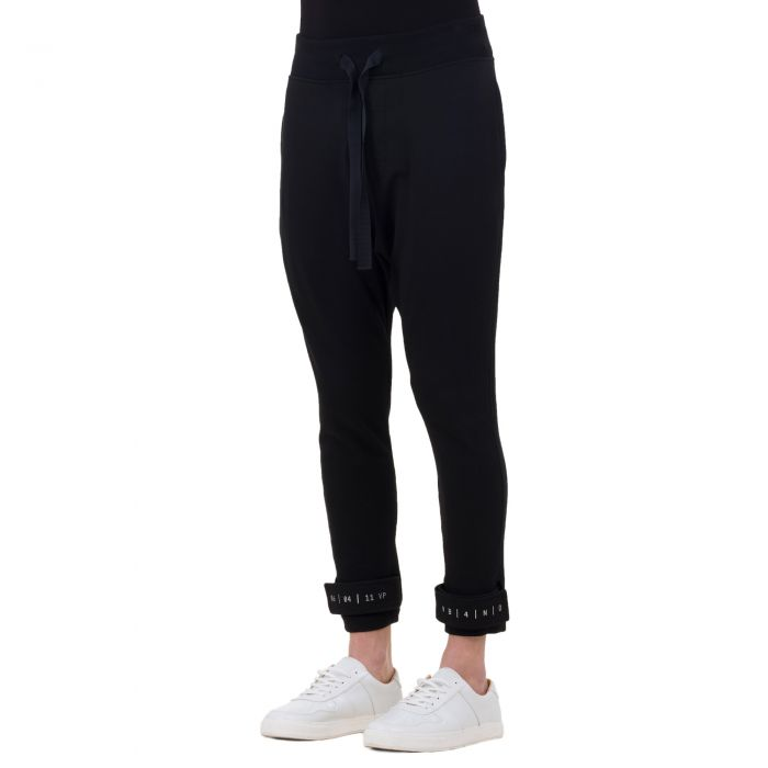 CODED VELCRO PANTS BLACK