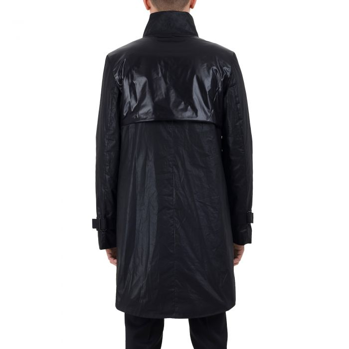 WAXED COAT BLACK