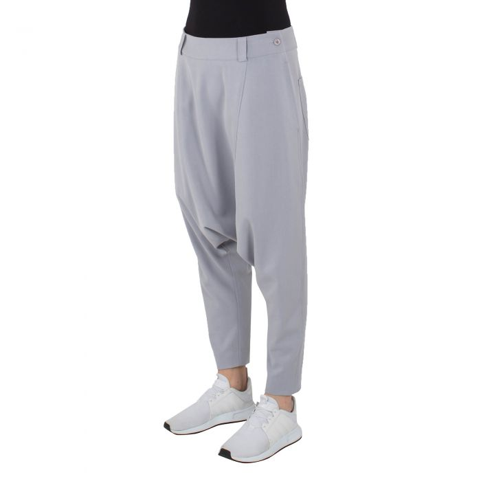LOW TROUSERS GREY