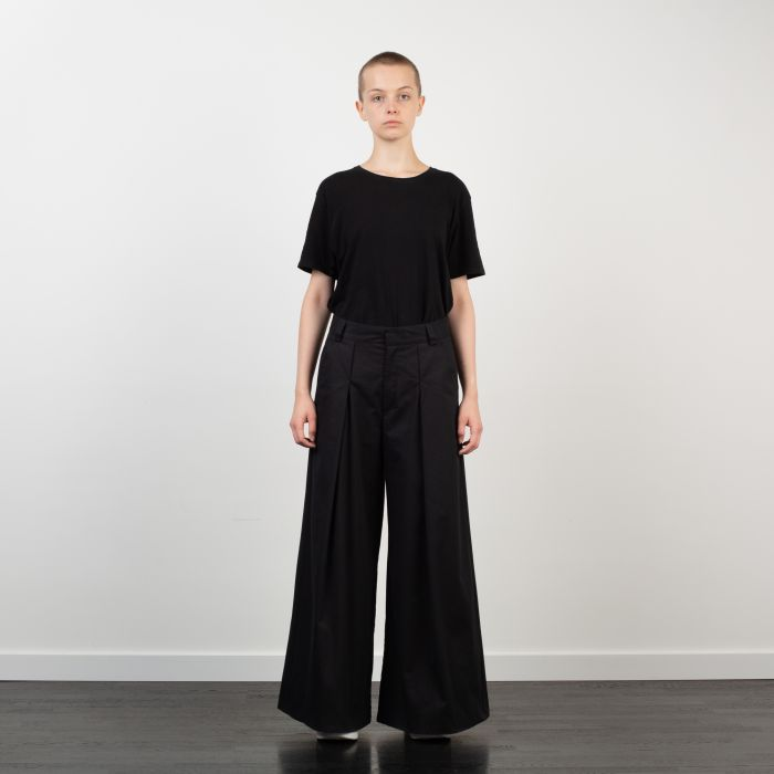 HAKAMA TROUSERS BLACK NO.2