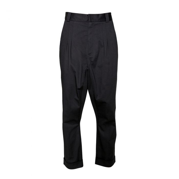 GUSSET TROUSERS WITH CUFF